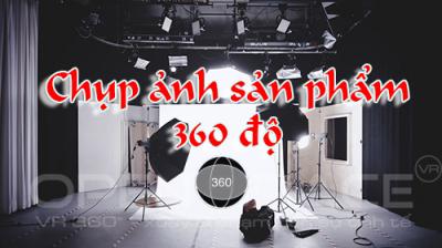 Chụp ảnh sản phẩm 360 độ, thiết kế web 360