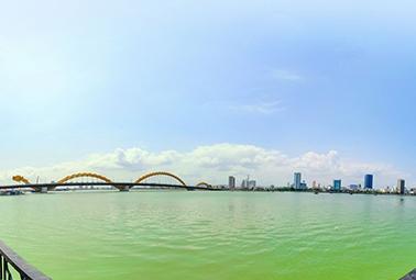 Cầu rồng Sông Hàn 360°